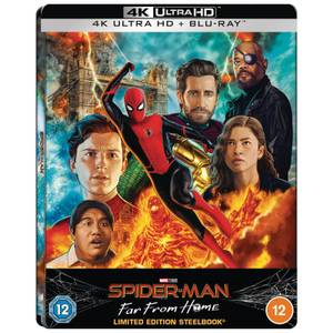 Spider-Man: Far From Home - Zavvi Exclusive 4K Ultra HD Lenticular Steelbook (Includes Blu-ray)