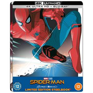 Spider-Man Homecoming - Exclusivité Zavvi 4K Ultra HD Steelbook  Lenticulaire (Blu-ray Inclus)