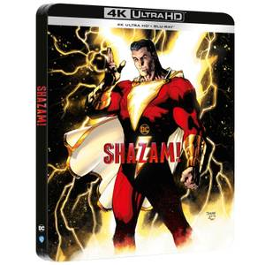 Shazam - Steelbook Exclusivo de Zavvi 4K Ultra HD (Incluye Blu-Ray 2D)
