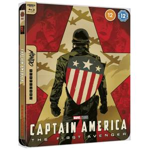 Marvel Studios' Captain America - Mondo #43 Zavvi Exclusive 4K Ultra HD Steelbook (includes Blu-ray)