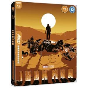 Marvel Studios' Iron Man -Mondo#44 Zavvi Exclusive 4K Ultra HD Steelbook (includes Blu-ray)