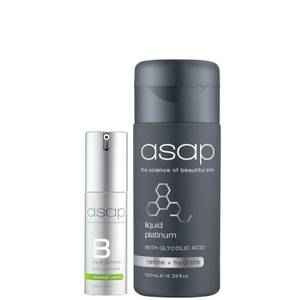 asap Super B + Liquid Platinum Serum Pack