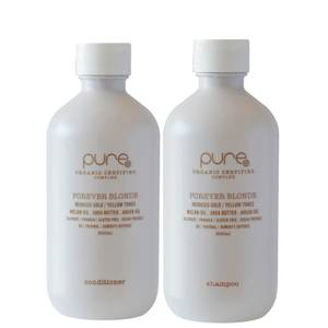 Pure Forever Blonde Shampoo and Conditioner (2 x 300ml)