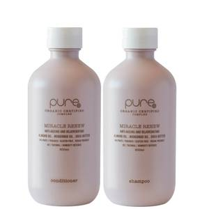 Pure Miracle Renew Shampoo and Conditioner (2 x 300ml)