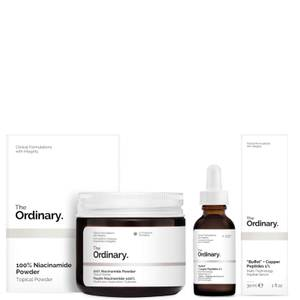 The Ordinary Niacinamide and Buffet