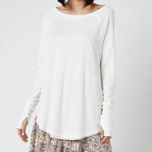 Free People Women's Snowy Thermal Top - White