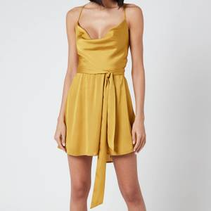 Free People Women's Good Company Slip Dress - Eternal Gold