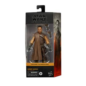 Hasbro Star Wars The Mandalorian Black Series Greef Karga Action Figure