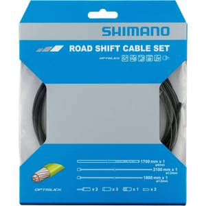 Shimano OPTISLICK Coated Road Gear Cable Set