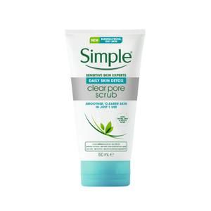 Simple Daily Detox Face Scrub 150ml