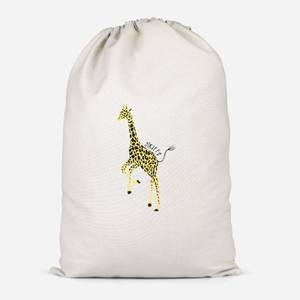 Giraffe Cotton Storage Bag