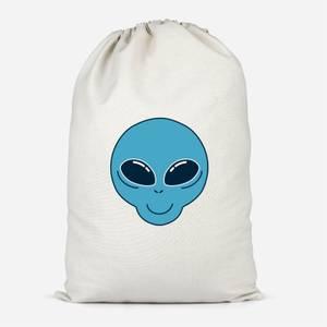 Alien Head Cotton Storage Bag