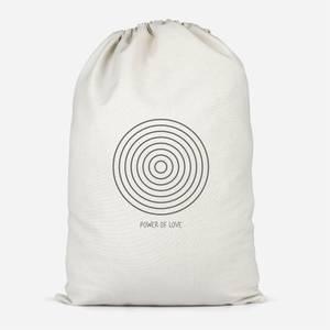 Power Of Love Cotton Storage Bag