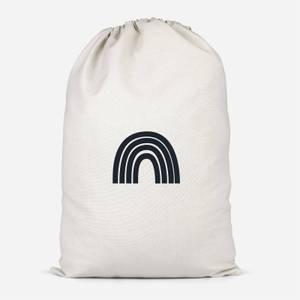 Monochrome Rainbow Cotton Storage Bag