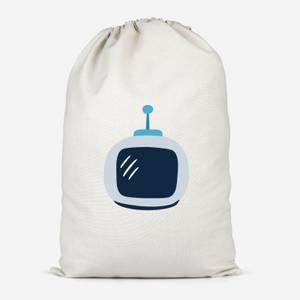Space Helmet Cotton Storage Bag