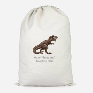 T.Rex Joke Cotton Storage Bag