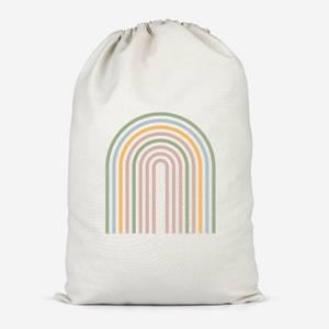 Geo Pattern Cotton Storage Bag