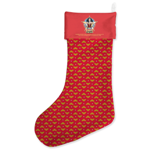 Wonder Women Christmas Stocking