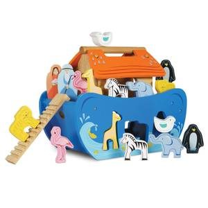Le Toy Van Petilou Noah's Shapesorter Ark