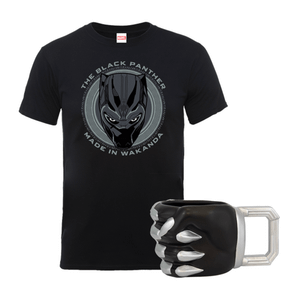 Black Panther Tee & Mug Bundle