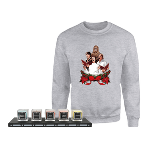 Star Wars Sweatshirt & Candle Set Bundle