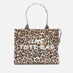 Marc Jacobs Women's Leopard Traveler Tote Bag - Natural Multi