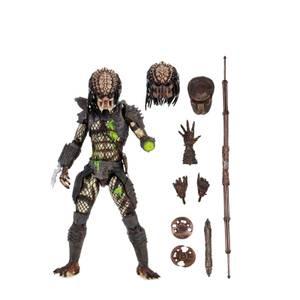 NECA Predator 2 Ultimate Battle Damaged City Hunter 7 Inch Scale Action Figure