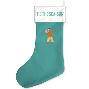 Tis The Sea-Sun Christmas Stocking