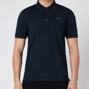 HUGO Men's Dinoso211 Polo-Shirt - Dark Blue