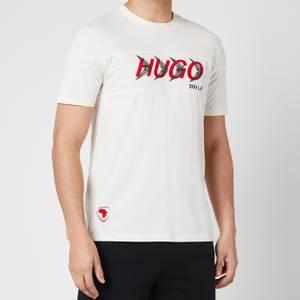 HUGO X Liam Payne Men's Dappel T-Shirt - Natural