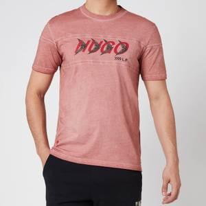 HUGO X Liam Payne Men's Dappel T-Shirt - Light/Pastel Pink