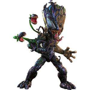 Hot Toys Marvel's Spider-Man: Maximum Venom Artist Collection Action Figure 1/6 Venomized Groot 25 cm
