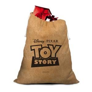 Toy Story Hessian Santa Sack