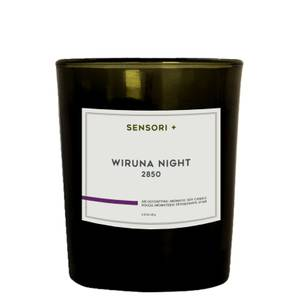 SENSORI+ Air Detoxifying Aromatic Soy Candle - Wiruna Night 60g