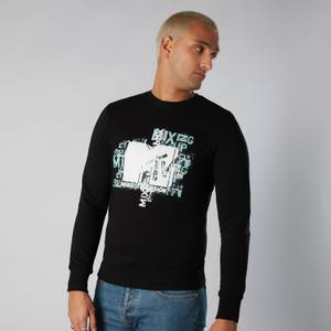 MTV Typography Sweatshirt - Black
