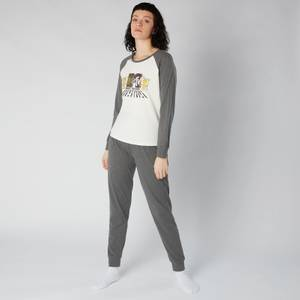 MTV Decks Women's Pyjama Set - Grey