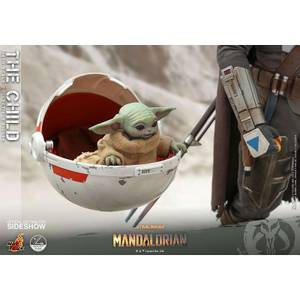 Hot Toys Star Wars The Mandalorian Action Figure 1/4 The Child 9 cm