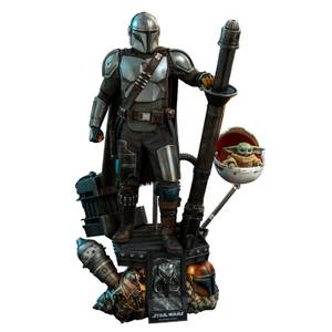 Hot Toys Star Wars The Mandalorian Action Figure 2-Pack 1/4 The Mandalorian & The Child Deluxe 46 cm