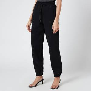 Alexander Wang Women's Jogger with Allover Embroidery - Black