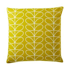 Orla Kiely Small Liner Stem Cushion- Sunflower - 50x50cm