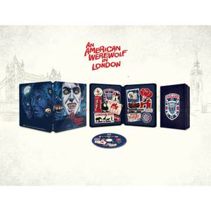An American Werewolf in London Zavvi Exclusive Blu-ray Steelbook