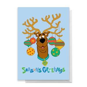 Scooby Doo Seasons Greetings Greetings Card