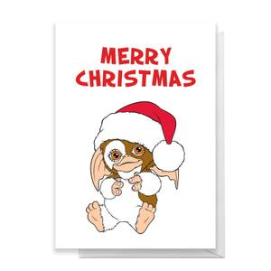 Gremlins Merry Christmas Greetings Card