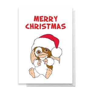 Gremlins Merry Christmas Greetings Card