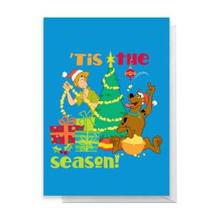 Scooby Doo 'Tis The Season Greetings Card