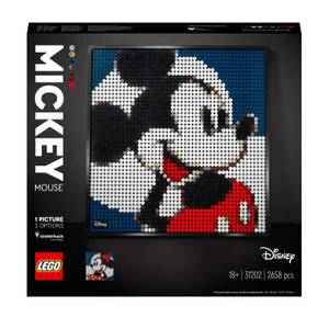 LEGO Art Disney's Mickey Mouse Poster Canvas Set (31202)