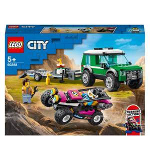 LEGO® City: Le transport du buggy de course (60288)