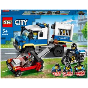 LEGO City: Police Prisoner Transport Truck Toy (60276)