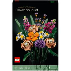 LEGO Creator: Expert Flower Bouquet Set for Adults (10280)