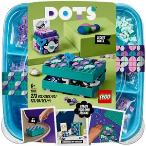 LEGO DOTS: Secret Boxes Jewellery Box Room Décor Set (41925)